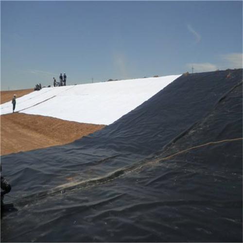 土工膜在景观人工湖的施工技巧