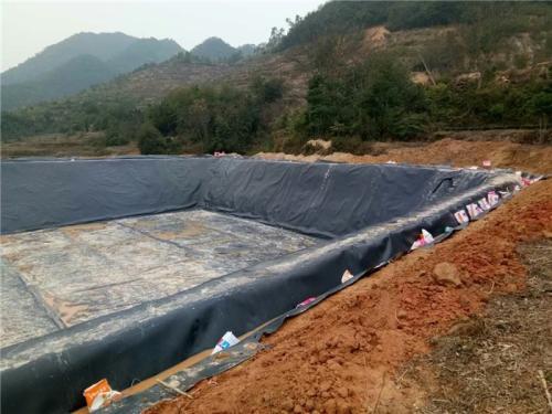 环保防渗土工膜工程为您讲述垃圾填埋总共分几步?