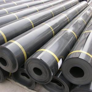铺设HDPE土工膜时对环境的要求