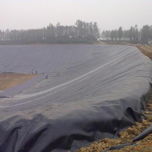 HDPE土工膜中添加炭黑的作用