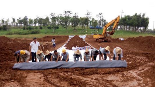 膨润土防水毯在土工材料中的优势