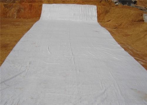 膨润土防水毯的固定方法