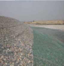 宏祥生产的河道固堤石笼网