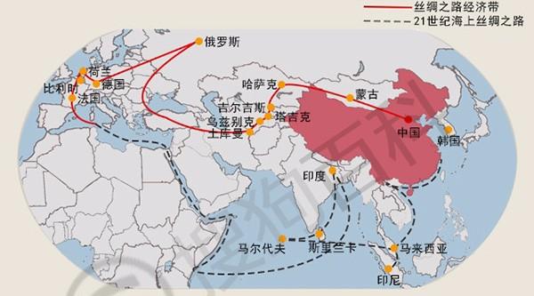 凯发网址娱在线出口一带一路沿线国家分布地图